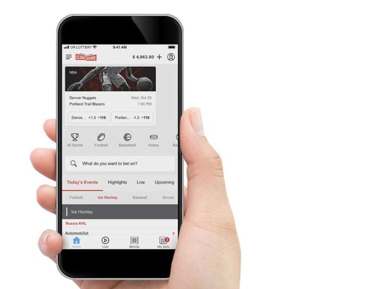 scoreboard oregon lottery betting app promotions