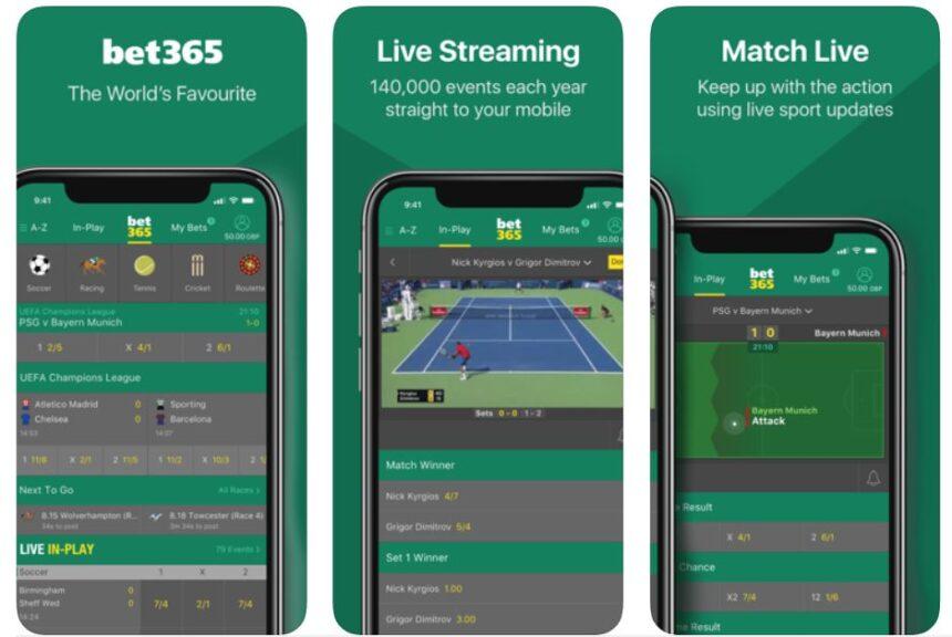CO Sportsbook Apps bet365