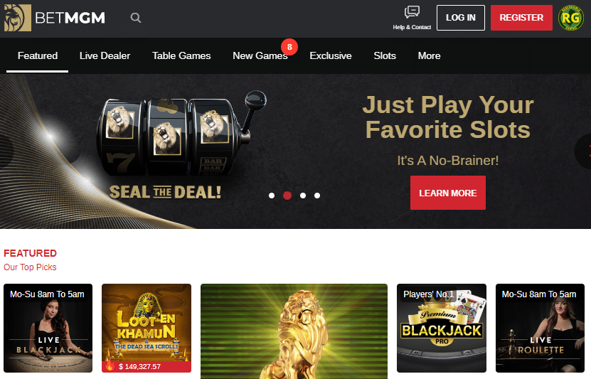 NJ Best Online Casino